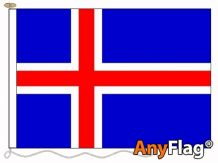 - ICELAND ANYFLAG RANGE - VARIOUS SIZES
